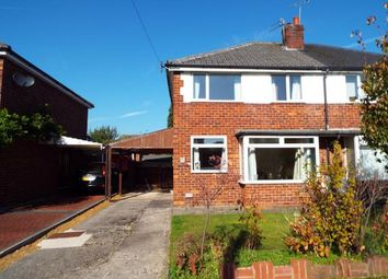 Thumbnail 3 bed semi-detached house for sale in Wingfield Drive, Wilmslow, Cheshire