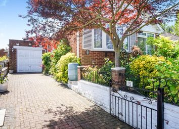 2 bed semi-detached bungalow for sale in Brownhill Close, Walderslade, Chatham ME5