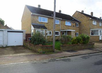 Thumbnail 3 bedroom end terrace house for sale in Pankhurst Crescent, Stevenage, Hertfordshire