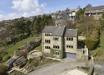 Thumbnail 6 bed detached house for sale in Taylor Lane, Scapegoat Hill, Huddersfield, West Yorkshire