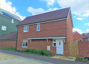 Thumbnail 3 bed detached house to rent in Boyce Road, Church Crookham, Fleet