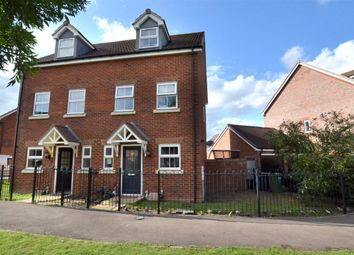 Thumbnail 3 bed semi-detached house for sale in Staxton Drive Kingsway, Quedgeley, Gloucester
