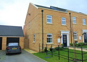 Thumbnail 3 bed end terrace house for sale in Welland Drive, Bourne, Lincolnshire