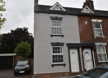 Thumbnail 3 bed end terrace house for sale in Cheadle Road, Uttoxeter