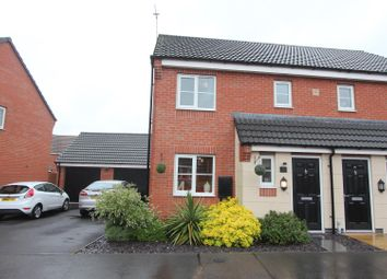 Thumbnail 3 bed semi-detached house for sale in Abbott Drive, Stoney Stanton, Leicester