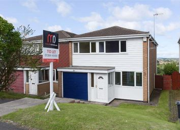 Thumbnail 3 bed semi-detached house to rent in Chawn Park Drive, Stourbridge