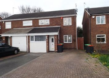 Thumbnail 3 bedroom semi-detached house for sale in Christchurch Road, Hucknall, Nottingham, Nottinghamshire