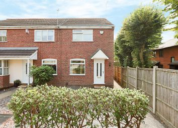 Thumbnail 2 bed town house for sale in Woodland Avenue, Highbury Vale, Nottingham