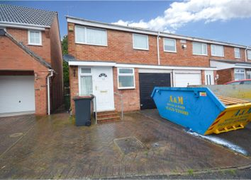 Thumbnail 3 bed semi-detached house for sale in Joseph Luckman Road, Bedworth