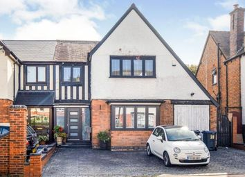 Thumbnail 4 bed semi-detached house for sale in Howard Road, Birmingham, West Midlands