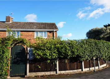 Thumbnail 3 bed semi-detached house for sale in Pilling Crescent, Blackpool