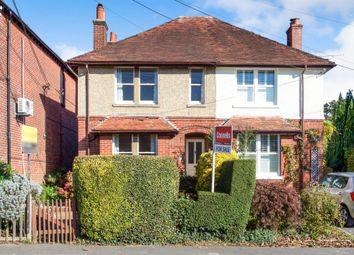 Thumbnail 2 bed semi-detached house for sale in Main Road, Colden Common, Winchester