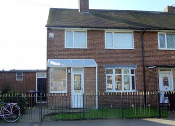 Thumbnail 3 bed end terrace house for sale in Wivern Road, Hull
