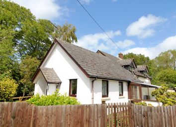 Thumbnail 1 bed semi-detached bungalow for sale in Banbury Court, Exeter Street, North Tawton, Devon
