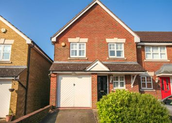 Thumbnail 3 bed end terrace house for sale in Greenwood Gardens, Shenley, Radlett