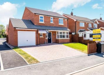 Thumbnail 4 bed detached house for sale in Kathleen Close, Glenfield