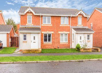 Thumbnail 3 bed semi-detached house for sale in Carlton Moor Crescent, Darlington