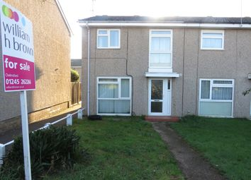 Thumbnail 3 bed end terrace house for sale in Cramphorn Walk, Chelmsford