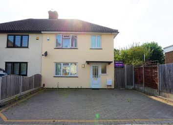 Thumbnail 3 bed semi-detached house for sale in Walmer Close, Romford
