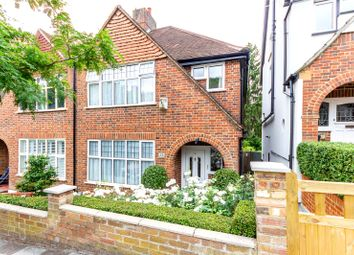 Thumbnail 3 bed semi-detached house for sale in Milestone Road, London