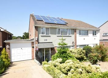 Thumbnail 3 bed semi-detached house for sale in Roselands Drive, Paignton, Devon