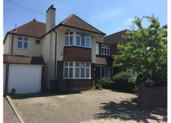 Thumbnail 4 bedroom semi-detached house to rent in Avondale Avenue, Worcester Park