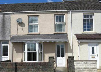 Thumbnail 3 bed terraced house for sale in Smyrna Street, Plasmarl, Swansea.