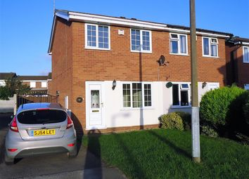 Thumbnail 2 bed semi-detached house to rent in Birches Close, Stretton, Burton-On-Trent