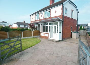Thumbnail 3 bed semi-detached house for sale in Minor Avenue, Lyme Green, Macclesfield