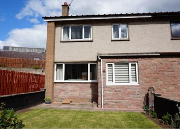 Thumbnail 3 bed end terrace house for sale in Kirkton Park, Forfar