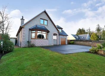 Thumbnail 4 bedroom detached house for sale in Methlick, Ellon