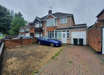Thumbnail 3 bed semi-detached house to rent in Henley Road, Walsgrave, Coventry