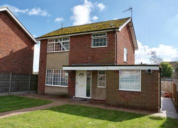 Thumbnail 3 bed detached house for sale in Birchwood Avenue, Lincoln