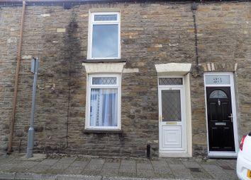 Thumbnail 2 bed terraced house for sale in Glynrhondda Street, Treorchy, Rhondda, Cynon, Taff.