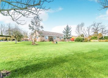 Thumbnail 5 bedroom detached bungalow for sale in Broad Drove East, Tydd St. Giles, Wisbech