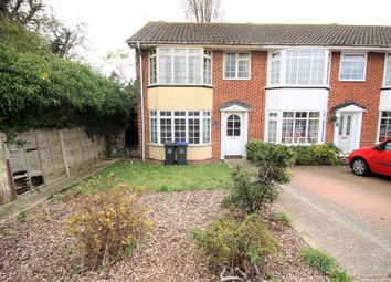 Thumbnail 3 bed end terrace house for sale in Mash Barn Lane, Lancing