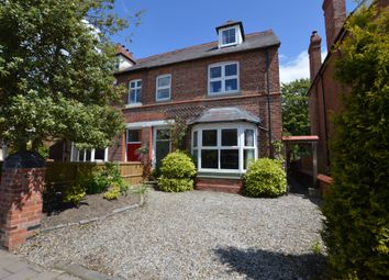 Thumbnail 5 bed semi-detached house for sale in Vicarage Road, Hoole, Chester