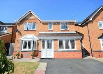Thumbnail 4 bed detached house for sale in 18 Lapwing Close, Warrington