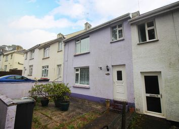 Thumbnail 3 bed terraced house for sale in Coombe Road, Paignton