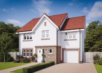 "Thumbnail 4 bed detached house for sale in ""The Bryce"" at Flures Crescent, Erskine"