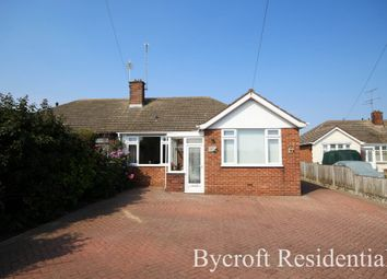 Thumbnail 3 bed semi-detached bungalow for sale in Winifred Way, Caister-On-Sea, Great Yarmouth