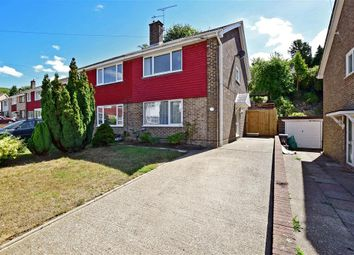 Thumbnail 3 bed semi-detached house for sale in Templeside, Temple Ewell, Dover, Kent