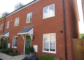 Thumbnail 3 bed terraced house to rent in Treble Close, Buckingham
