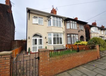 Thumbnail 3 bed semi-detached house for sale in Poulton Road, Wallasey, Wirral