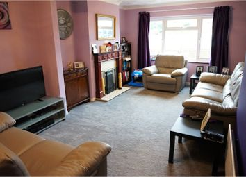 Thumbnail 4 bed semi-detached house for sale in Swale Road, Rochester