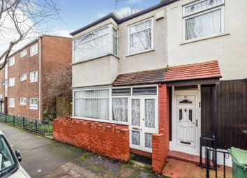 Thumbnail 3 bedroom end terrace house to rent in Berwick Road, London
