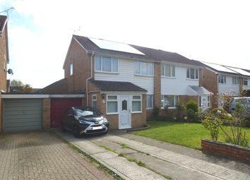 Thumbnail Semi-detached house for sale in Christie Close, Liden, Swindon