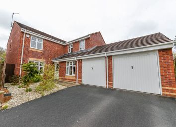Thumbnail 5 bed detached house for sale in Hugo Way, Loggerheads, Market Drayton