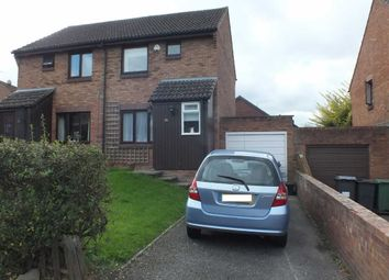 Thumbnail 2 bed semi-detached house to rent in Danvers Way, Westbury, Wiltshire