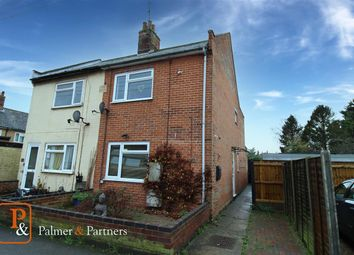 Thumbnail 3 bed semi-detached house for sale in Central Road, Leiston